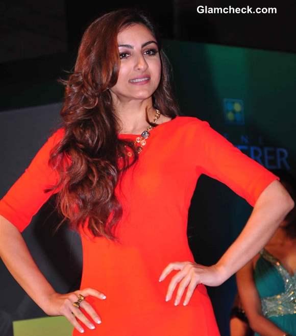 Soha Ali Khan 2013 at Rene Furterer Launch