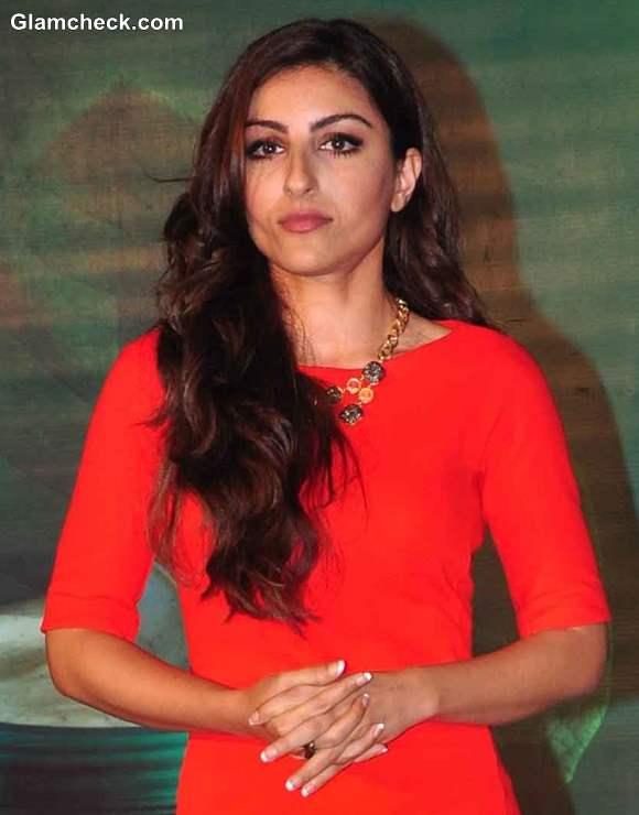 Soha Ali Khan at Rene Furterer Launch  2013