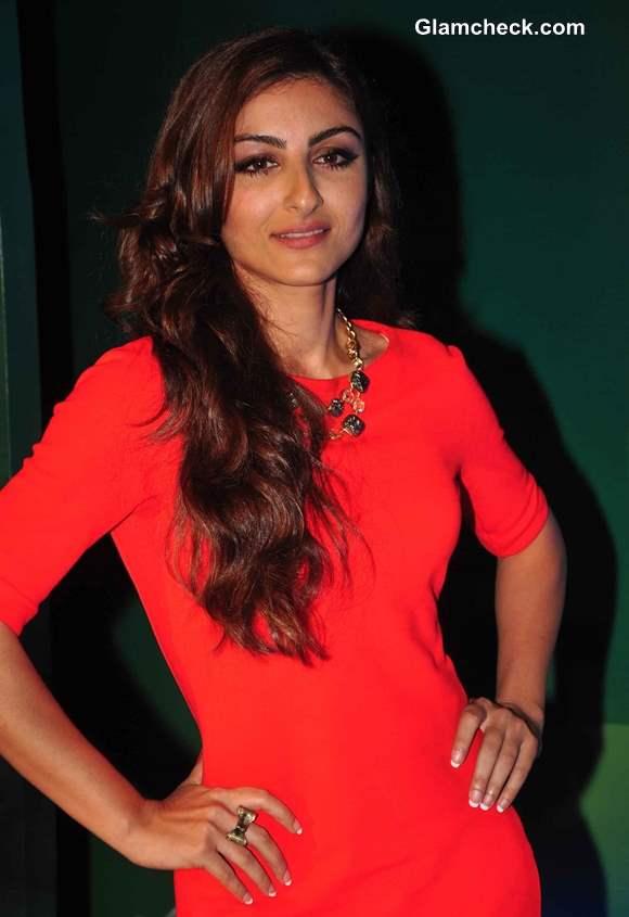 Soha Ali Khan at Rene Furterer Launch