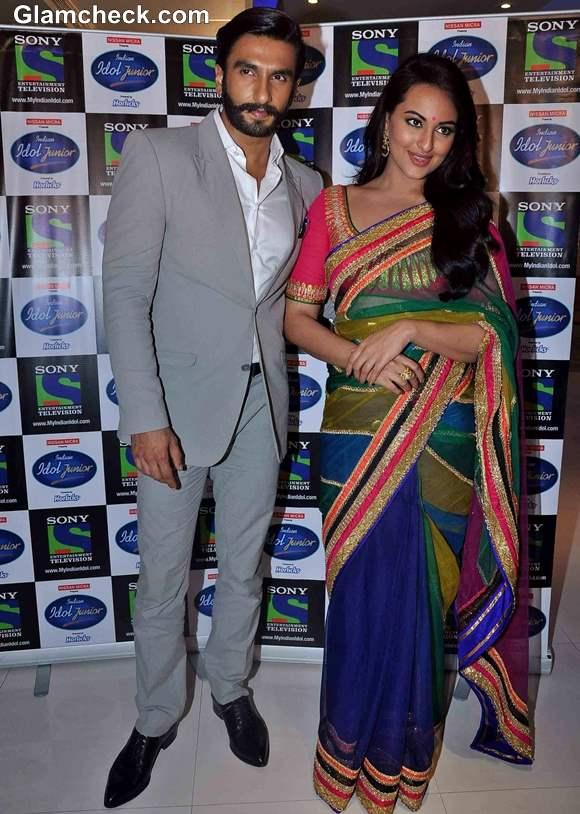 Sonakshi Sinha Promotes Lootera  Indian Idol Jr