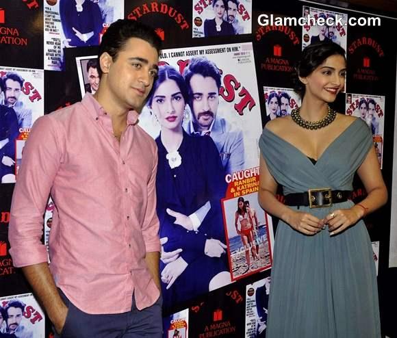 Sonam Kapoor Imran Khan Stardust Cover Launch
