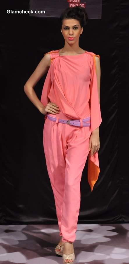 Swapnil Shinde Collection at Bangalore Fashion Week Winter Festive 2013