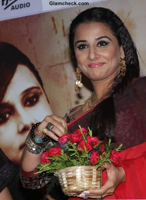 Vidya Balan in sari 2013