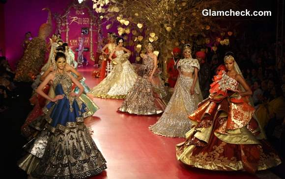 2013 Delhi Couture Week Ritu Beri Bridal Collection day 4