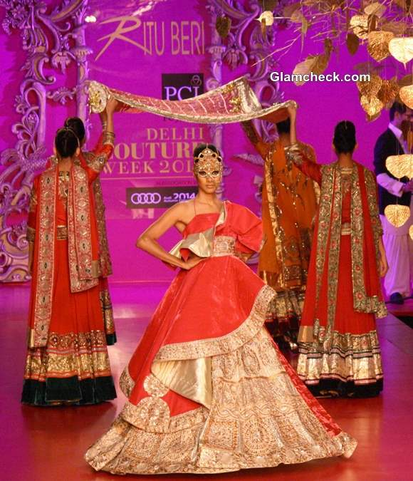 2013 Delhi Couture Week Ritu Beri Bridal Collection