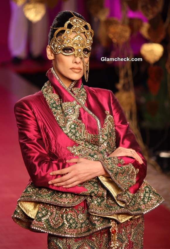 2013 Delhi Couture Week day 4 Ritu Beri Bridal Collection