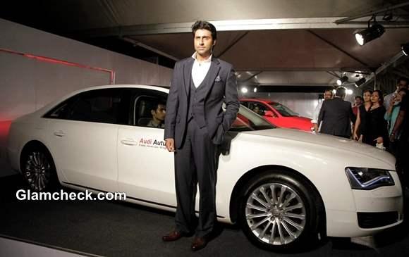 Abhishek Bachchan Inaugurates Audi India Autumn-Winter 2014 Collection