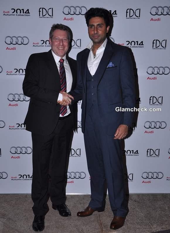 Abhishek Bachchan and Joe King Head Audi India