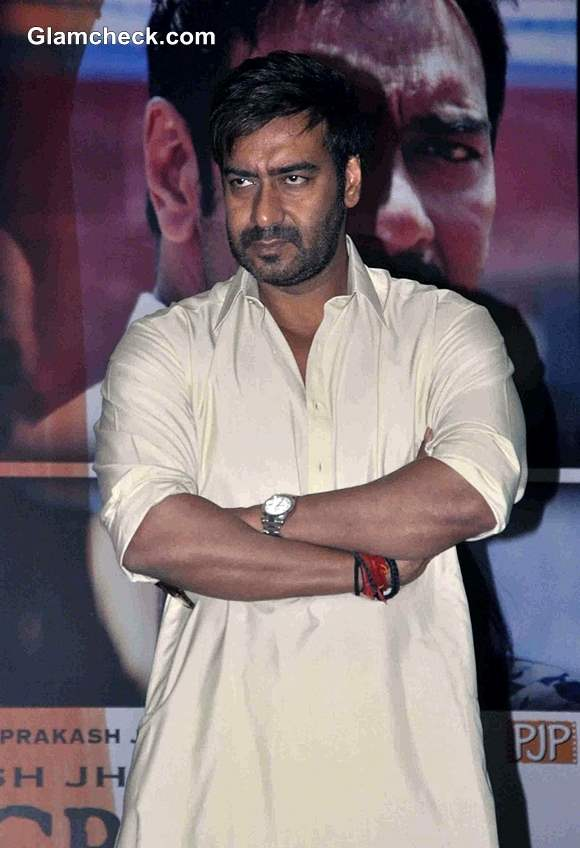 Ajay Devgan promotes Satyagraha