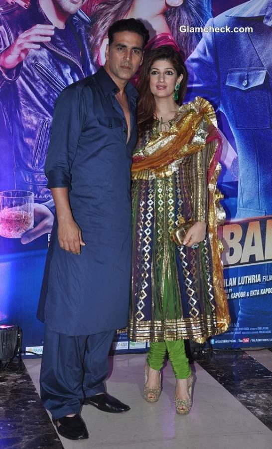 Akshay Kumar with wife Twinkle Khanna at Ekta Kapoor Iftar Party