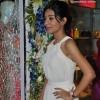 Amrita Rao Delicate in Flowy Dress at LASHA Store Launch