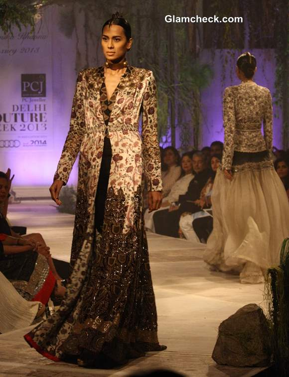 Anamika Khanna 2013 collection Delhi Couture Week