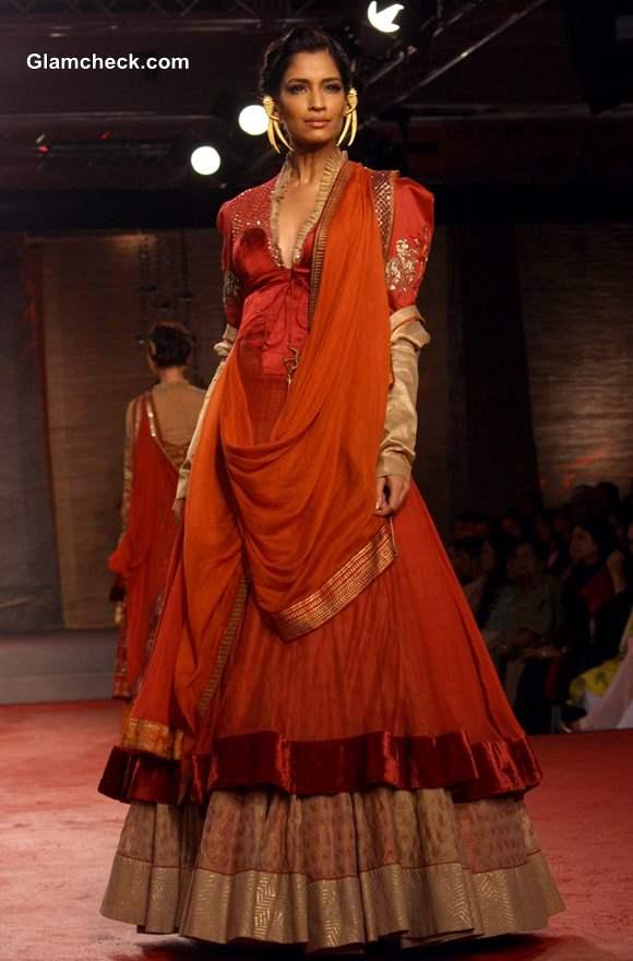 Anju Modi Collection Delhi Couture Week 2013 day 1