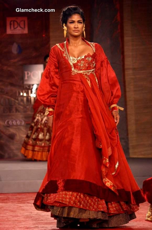 Anju Modi Collection Delhi Couture Week 2013