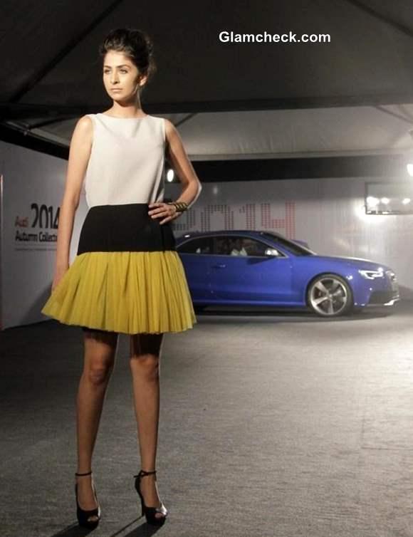 Audi India Autumn-Winter 2014 Collection outfit by fashion designer Nandita Mahtani