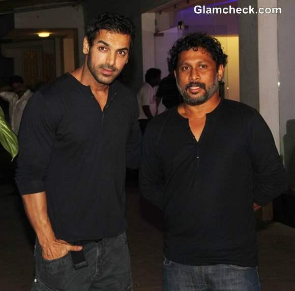 Bollywood actor John Abraham and filmmaker Shoojit Sircar at