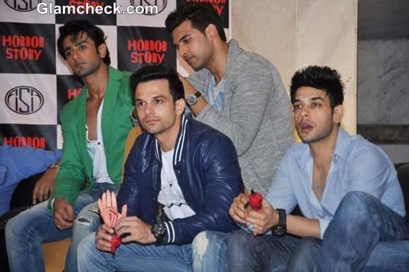 Cast of Horror Story Nishant Malkani Ravish Desai and Hasan Zaidi