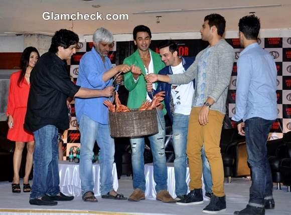 Cast of Horror Story Promote Film Launch Trailer in Mumbai
