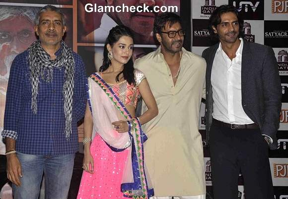 Cast of Satyagraha on Final Leg of Promotions in Mumbai
