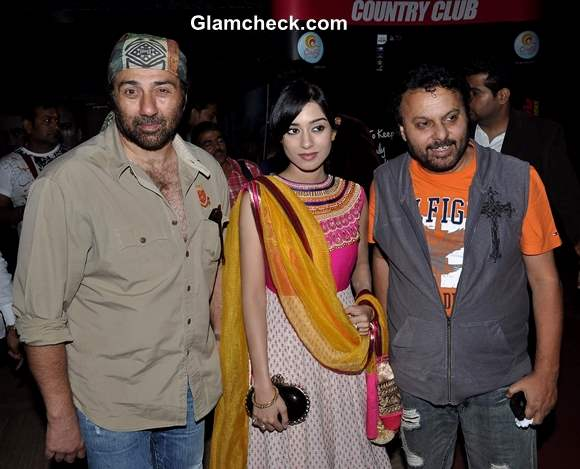 Cast of Singh Saab The Great Launches First Look in Mumbai