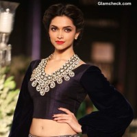 Deepika Padukone for Manish Malhotra Delhi Couture Week 2013