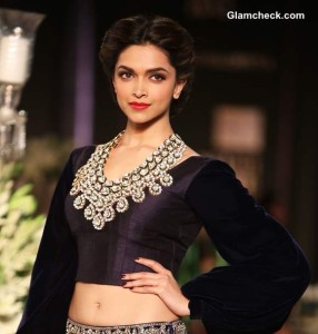 Deepika Padukone for Manish Malhotra Delhi Couture Week 2013