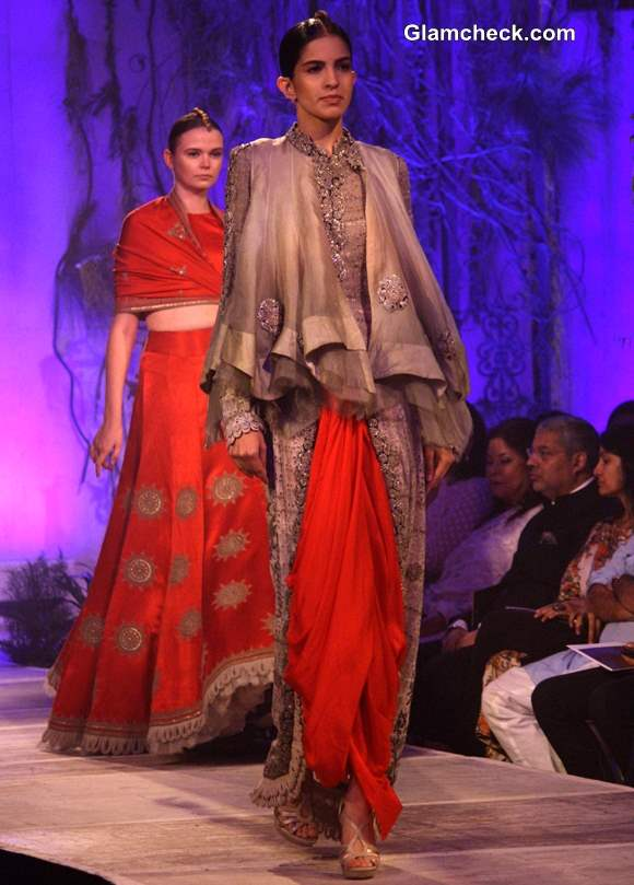 Delhi Couture Week 2013 Anamika Khanna Collection
