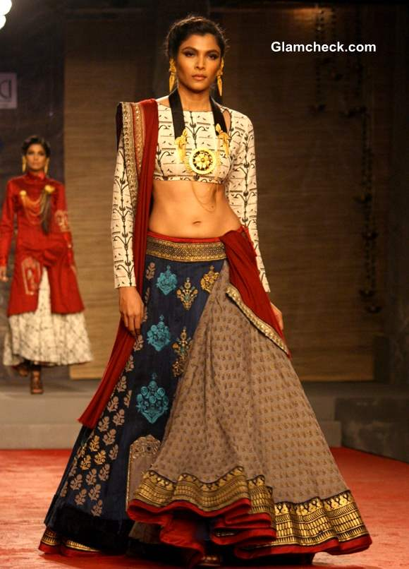 Delhi Couture Week 2013 Anju Modi Bridal Collection