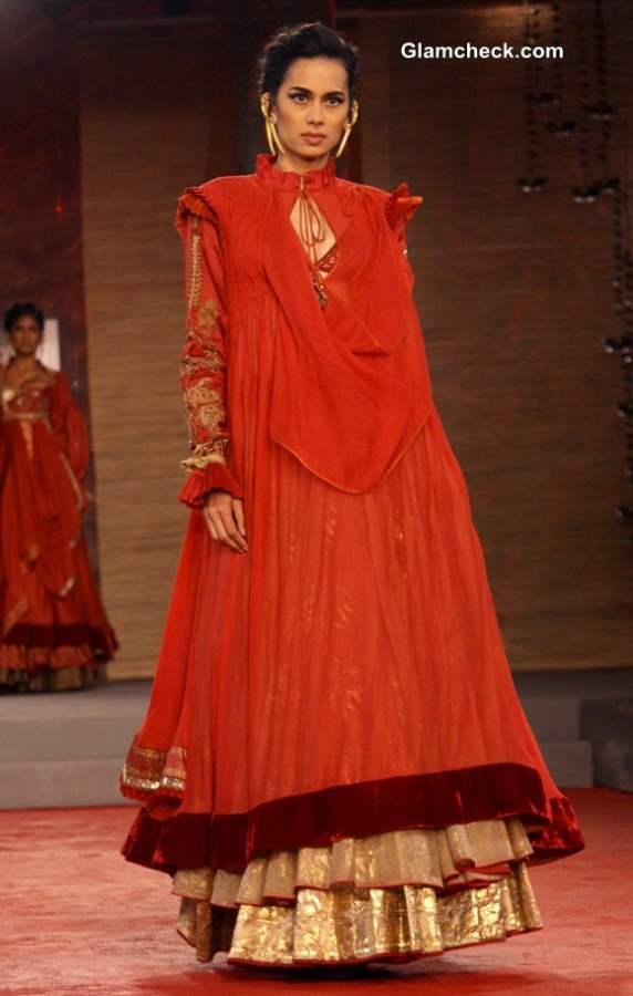 Delhi Couture Week 2013 Anju Modi Collection
