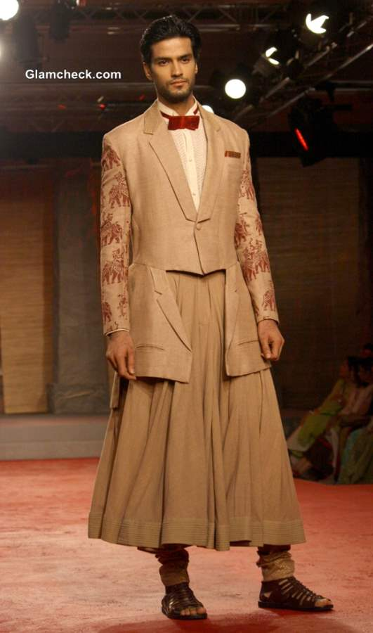 Delhi Couture Week 2013 Anju Modi Menswear Collection
