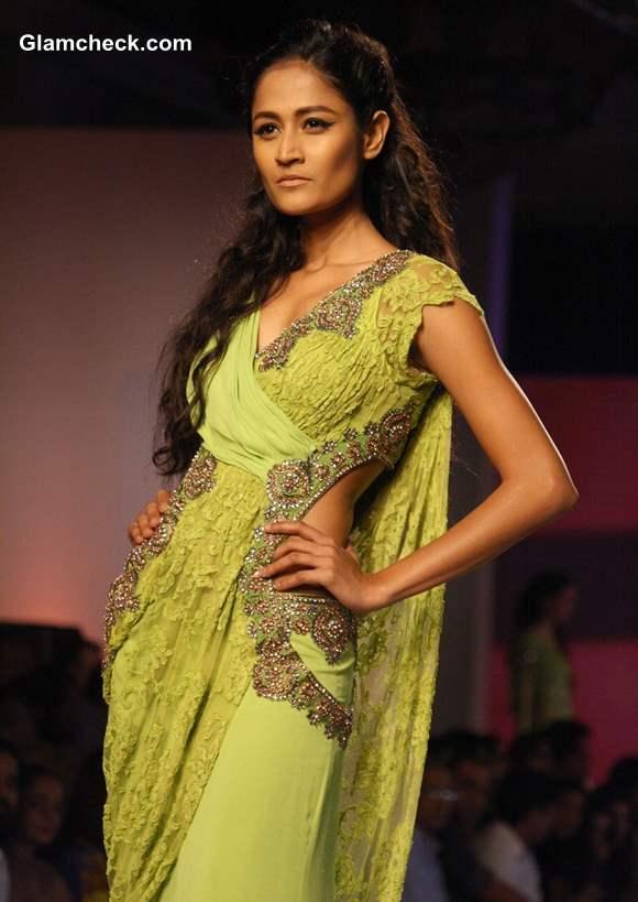 Delhi Couture Week 2013 Monisha Jaising collection