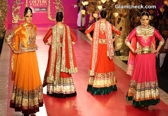 Delhi Couture Week 2013 Ritu Beri Collection