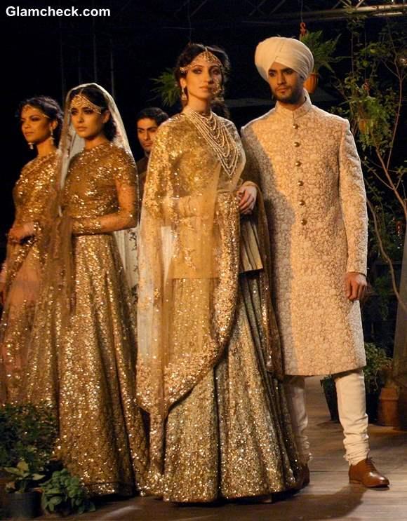 Delhi Couture Week 2013 Sabyasachi brides groom collection