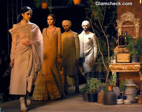 Delhi Couture Week 2013 Sabyasachi show