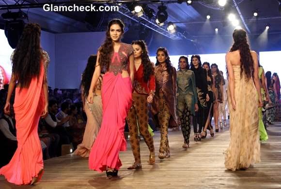 Delhi Couture Week 2013 designer Monisha Jaising collection