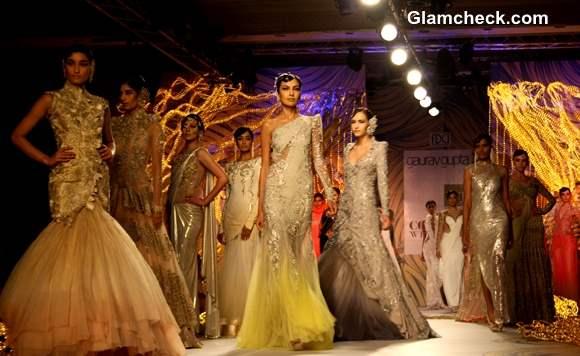 Designer Gaurav Gupta collection Delhi Couture Week 2013