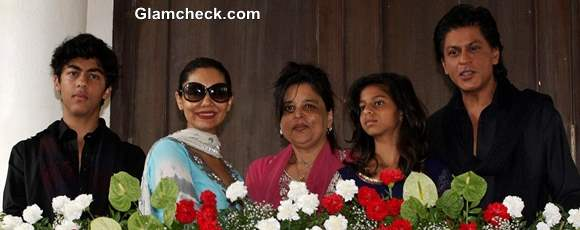 Eid Ul Fitr Party at Shahrukh Khan home Mannat