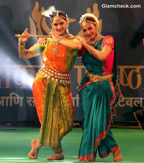 Esha Deol and Ahana Deol Celebrates Krishna Janmashtami