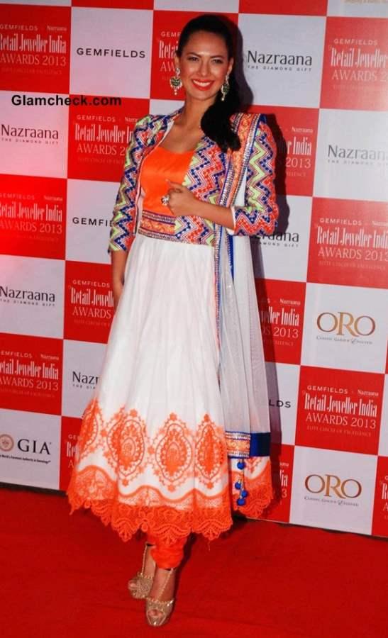 Femina Miss India International 2012 Rochelle Maria Rao at Retail Jeweller India Awards 2013