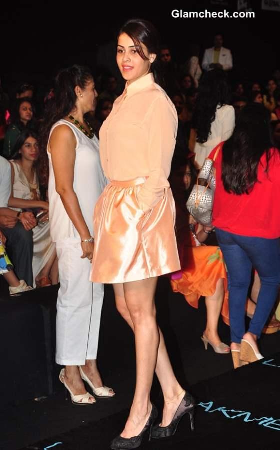 Genelia DSouza at Lakme Fashion Week Winter Festive 2013