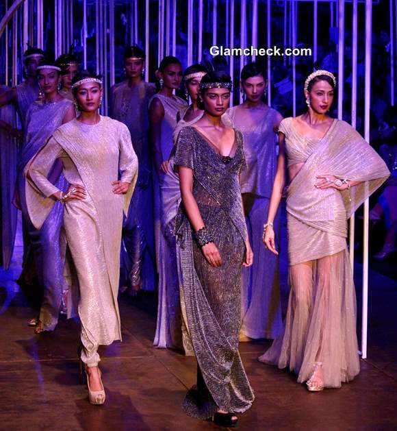 Grand Finale Tarun Tahiliani India Bridal Fashion Week 2013