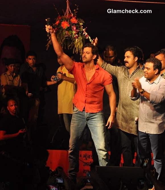 Hrithik Roshan 2013 Pratap Saranaik Dahi Handi