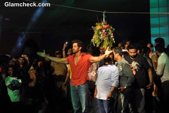 Hrithik Roshan Attends Pratap Saranaik Dahi Handi
