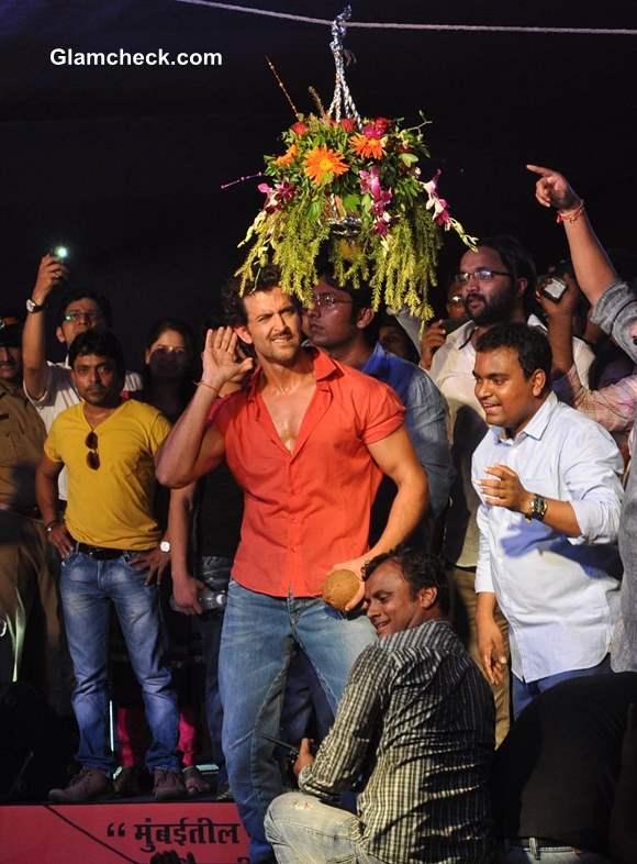 Hrithik Roshan Pratap Saranaik Dahi Handi event