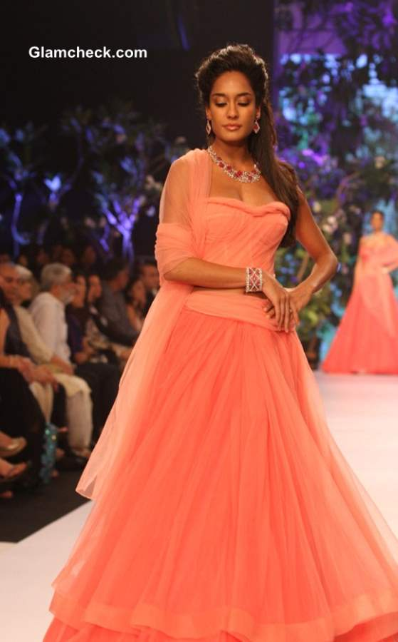 IIJW 2013 Lisa Hayden for Nirav Modi show