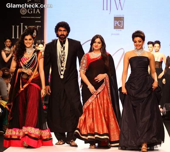 IIJW 2013 - Moni Agrawal - Tapsi Pan Rana Dagubatti Moni Agrawal Kajal Aggarwal
