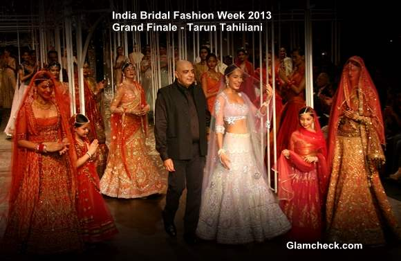 India Bridal Fashion Week 2013 Grand Finale Tarun Tahiliani