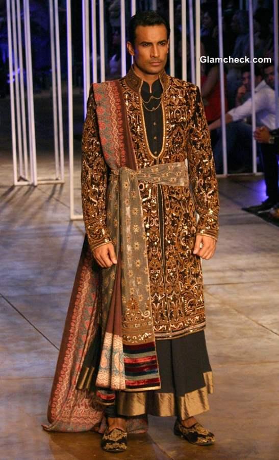 India Bridal Fashion Week 2013  Tarun Tahiliani Menswear collection