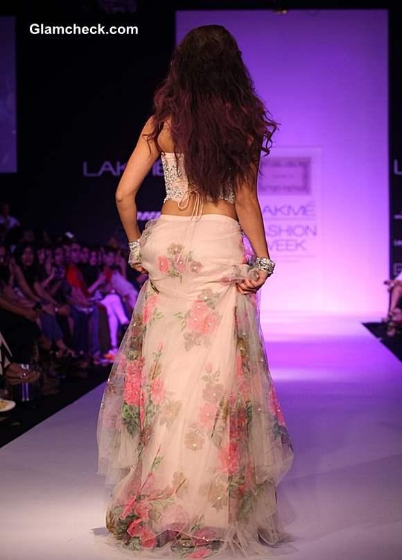 Jacqueline Fernandez at LFW Winter-Festive 2013