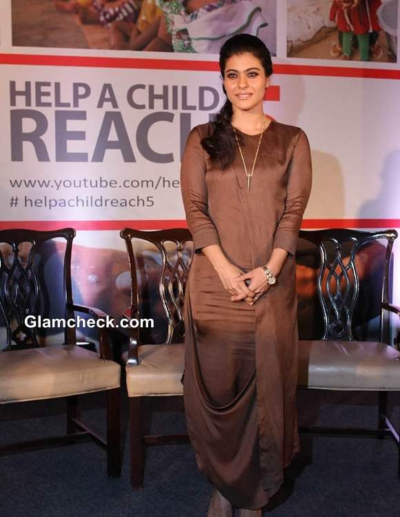Kajol at Hand-washing Campaign to Help a Child Reach 5